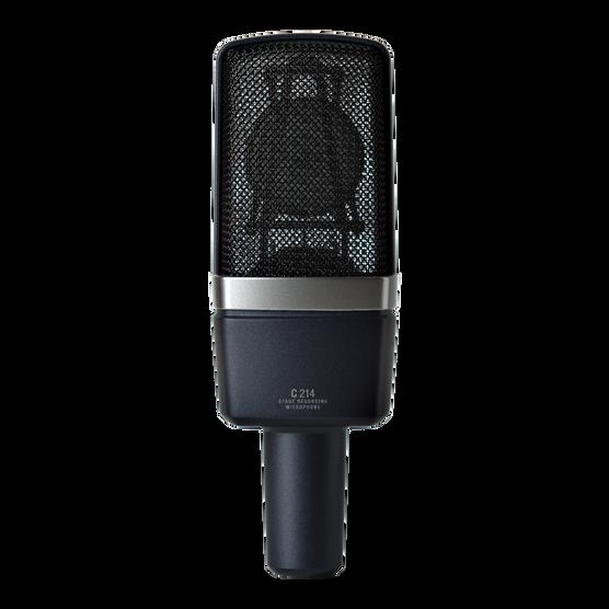 C214 - Black - Professional  large-diaphragm  condenser microphone - Back