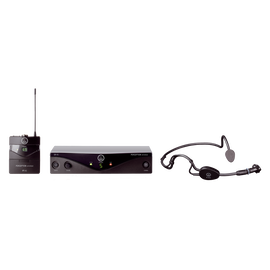 Perception Wireless 45 Sports Set Band-C2 - Black - High-performance wireless microphone system - Hero