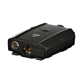B48 L - Black - Battery-operated phantom power supply - Hero