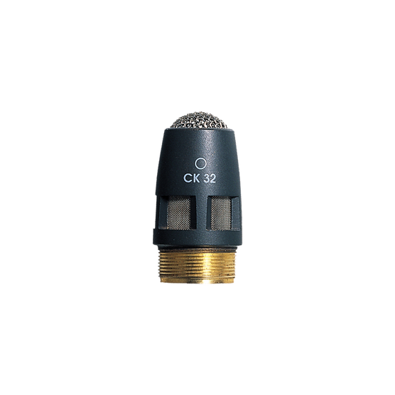 CK32 - Grey - High-performance omnidirectional condenser microphone capsule - DAM Series - Hero