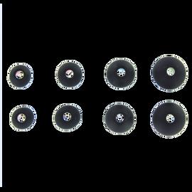 Ear tip set (XS+S+M+L), AKG N40