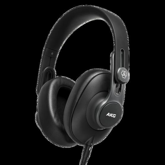 K361 - Black - Over-ear, closed-back, foldable studio headphones - Hero