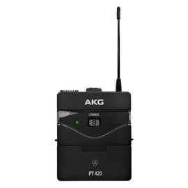 PT420 Band-A - Black - Professional wireless body-pack transmitter - Hero