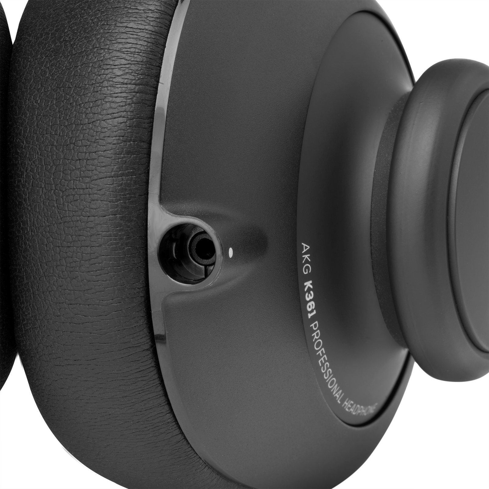 K361 - Black - Over-ear, closed-back, foldable studio headphones - Detailshot 4