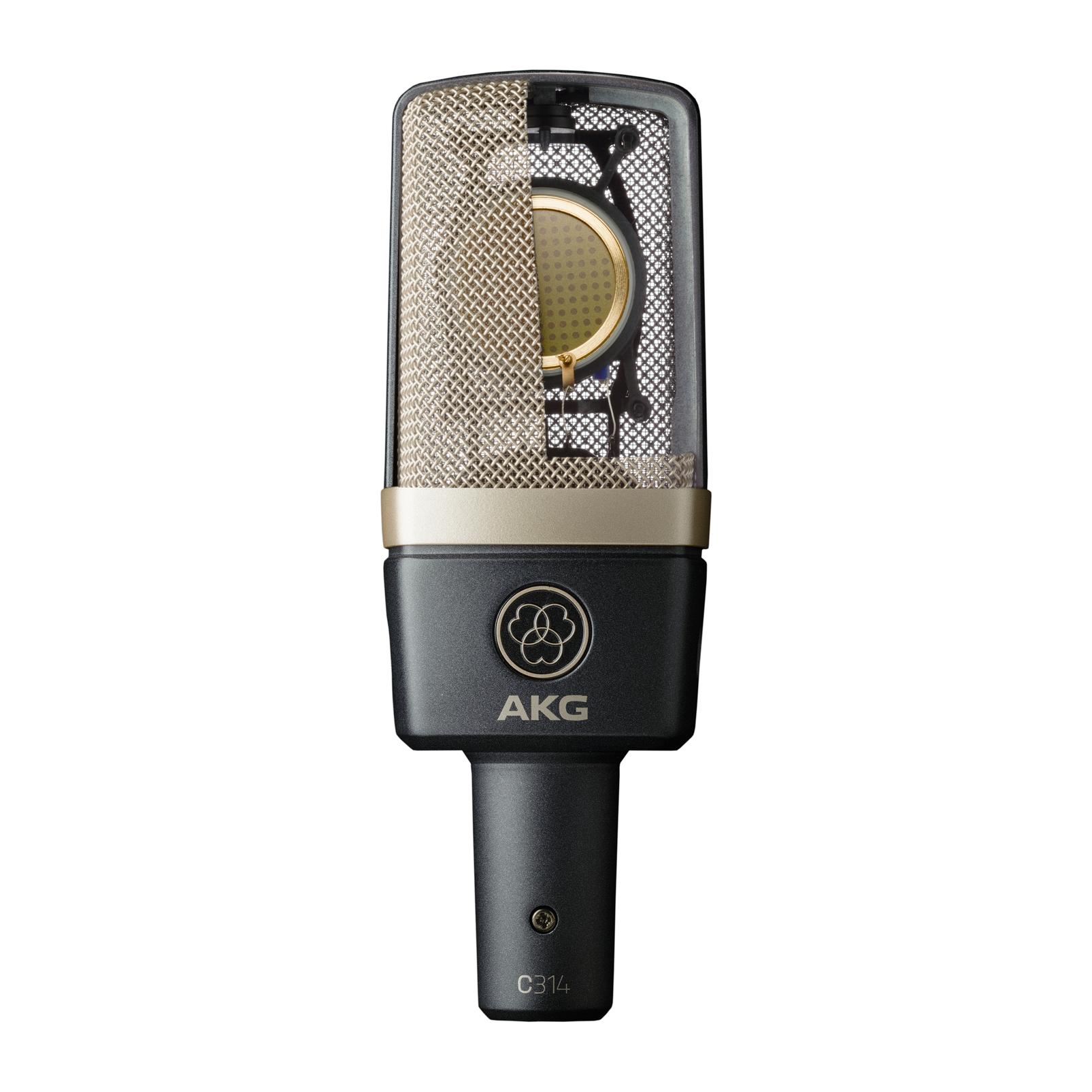 C314 - Black - Professional multi-pattern condenser microphone - Detailshot 1