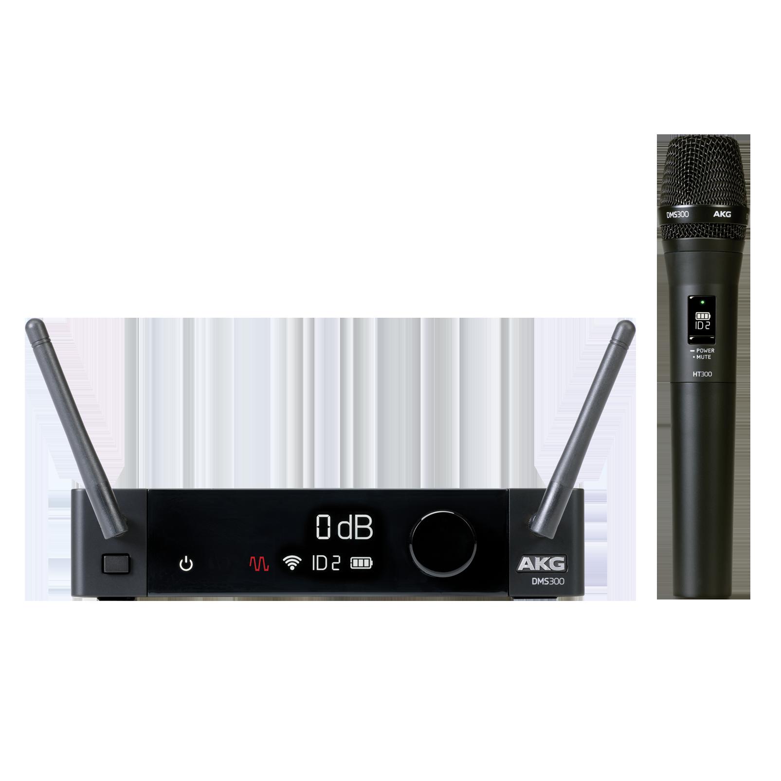 DMS300 Microphone Set - Black - Digital wireless microphone system - Hero