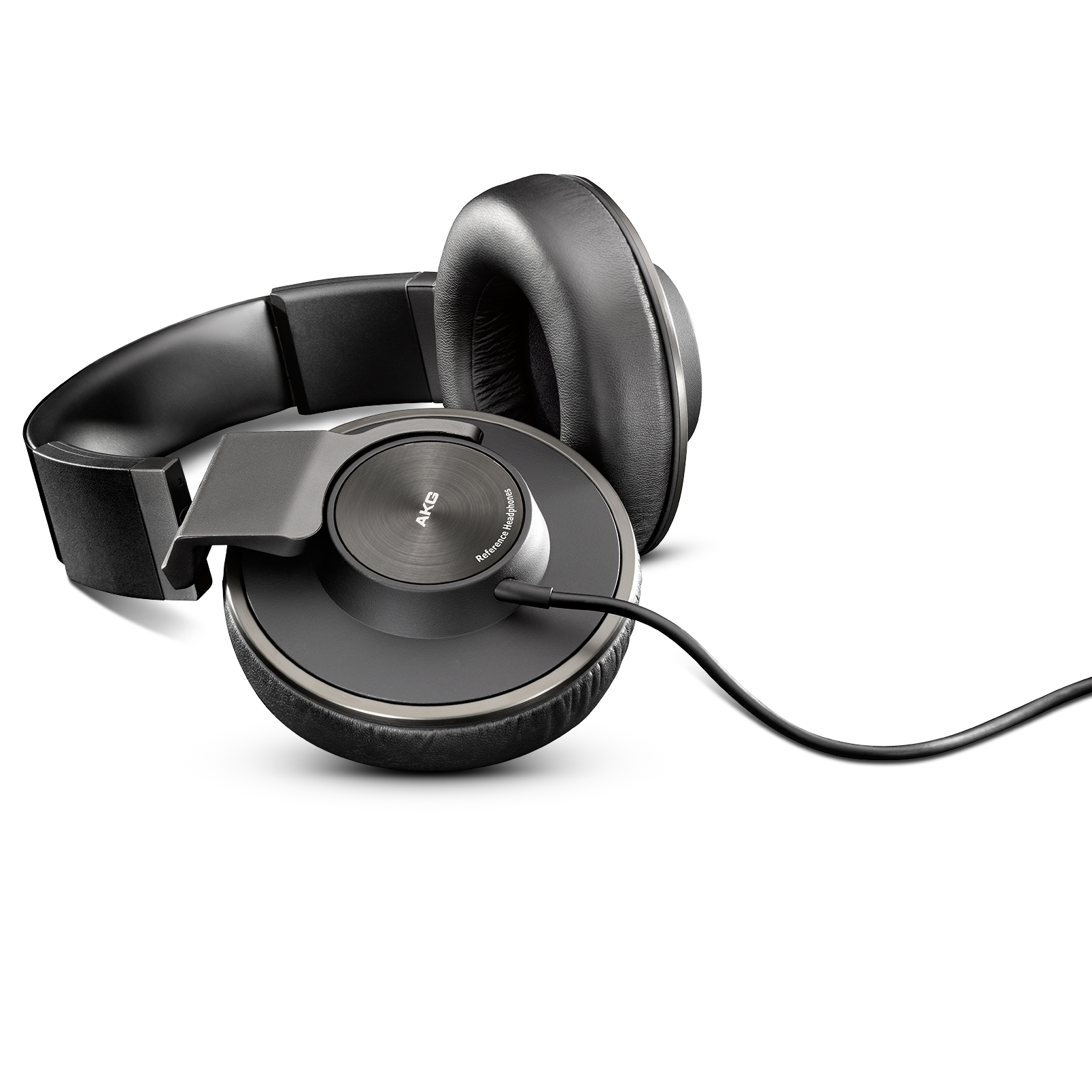 K550MKII - Black - Closed back reference class headphones with amazing comfortable fit. - Detailshot 4