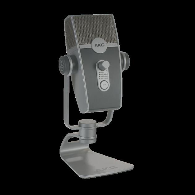 AKG Lyra - Silver - Ultra-HD Multimode USB Microphone  - Detailshot 1