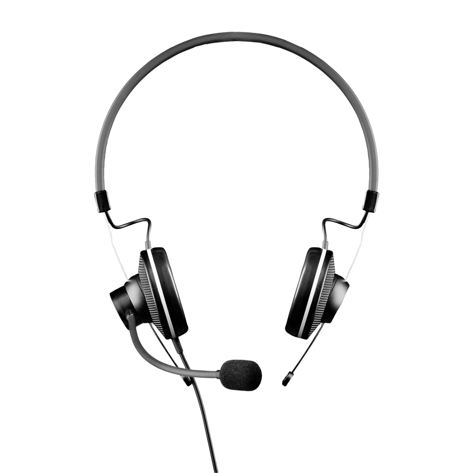 HSC15 - Black - High-performance conference headset - Front