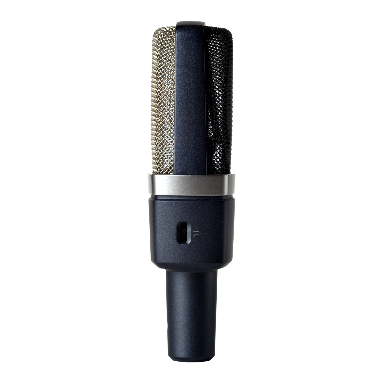 C214 - Black - Professional  large-diaphragm  condenser microphone - Left