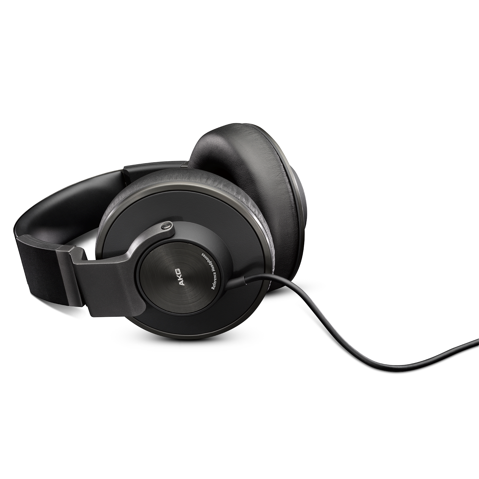 K550MKII - Black - Closed back reference class headphones with amazing comfortable fit. - Detailshot 3