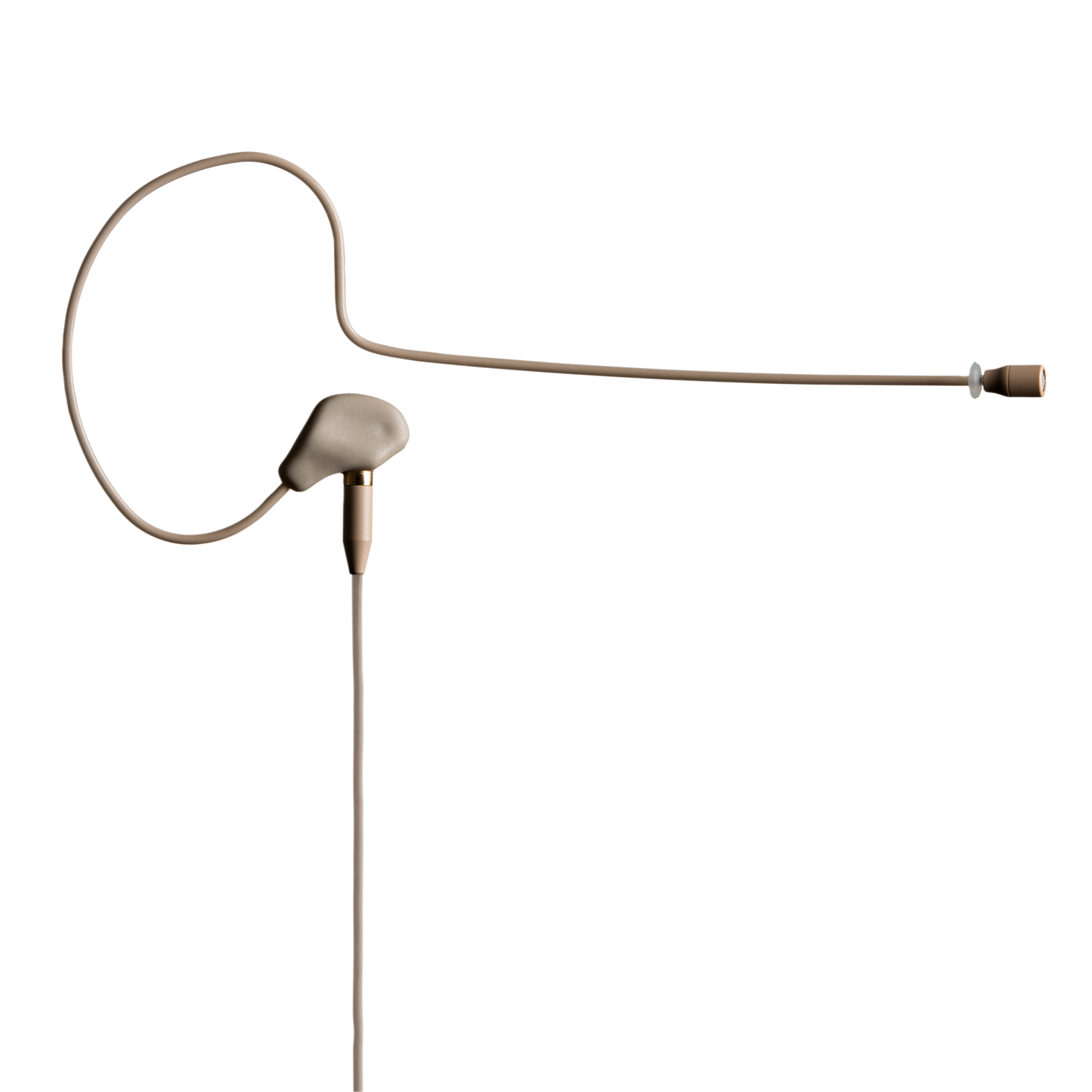 C111 LP - Beige - High-performance lightweight ear hook microphone - Hero